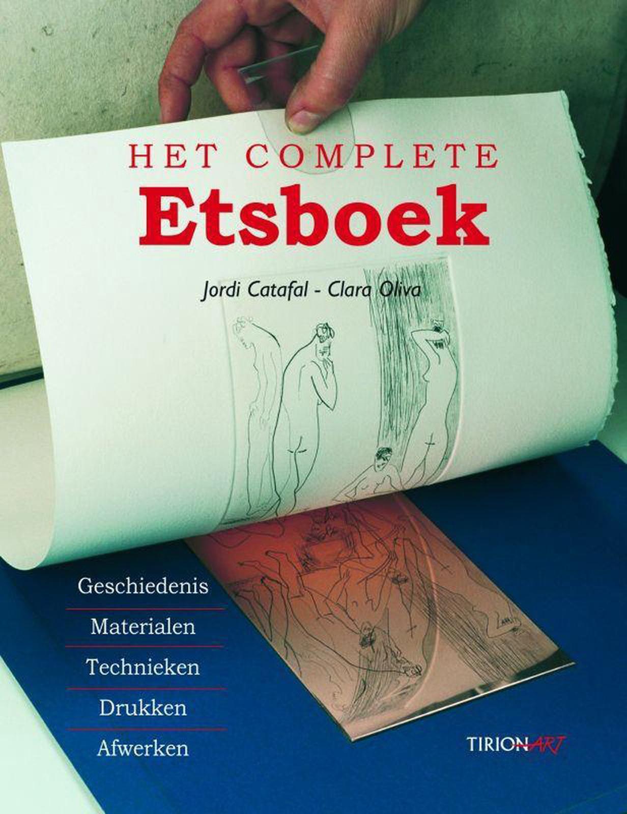 Het complete handboek etsen. Jordi Catafal