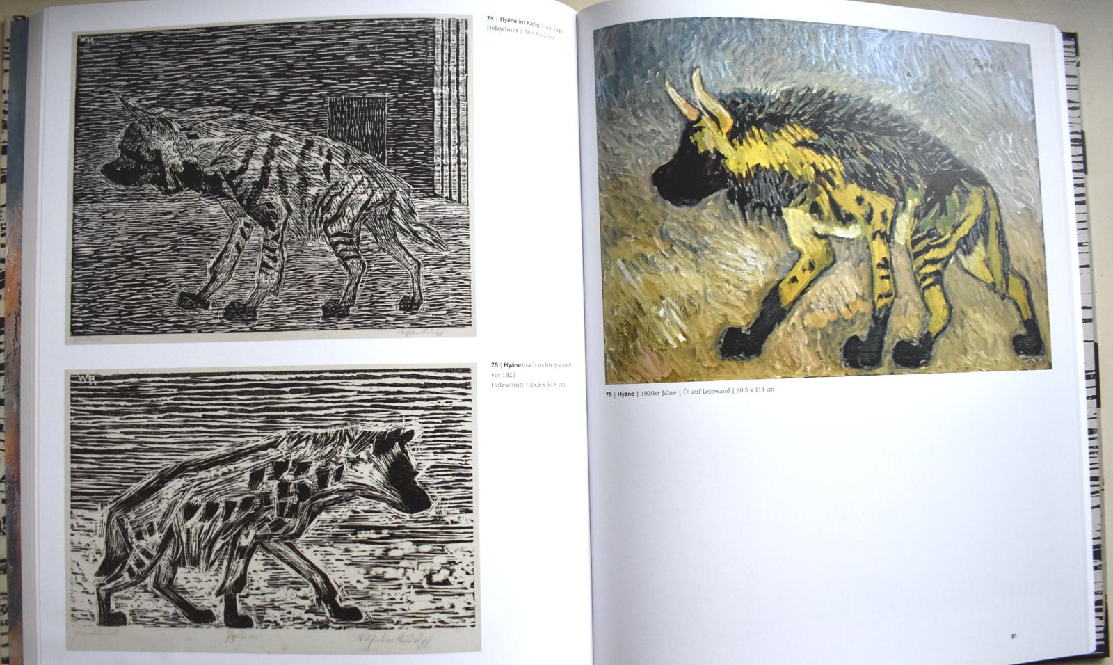 Wilhelm Rudolph. Das Phantastische ist die Wirklichkeit. Malerei und Holzschnitte.