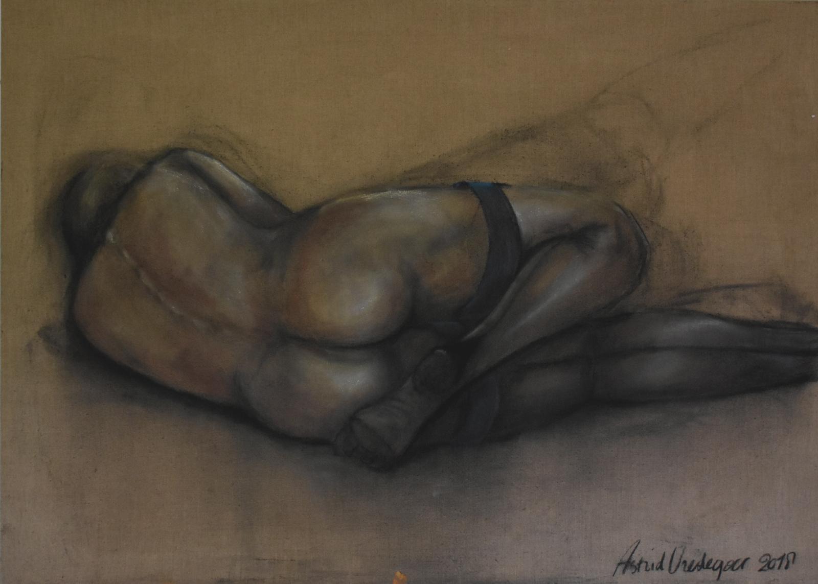 Z.T. pastel on canvas
